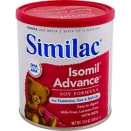 Abbott Nutrition Similac Soy Isomil W/iron, 12.4 Ounce - Total Diabetes Supply