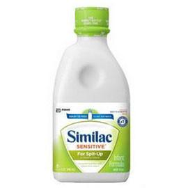 Abbott Nutrition Similac Sensitive For Spit Up, Ready To Feed 1 Qt - Total Diabetes Supply