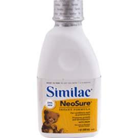 Abbott Nutrition Similac Expert Care Neosure Ready to Feed - One Quart Bottle Each
