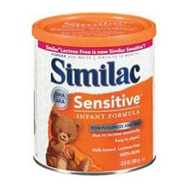 Abbott Nutrition Similac Sensitive Earlyshield Powder - One 12.6 oz Can - Total Diabetes Supply