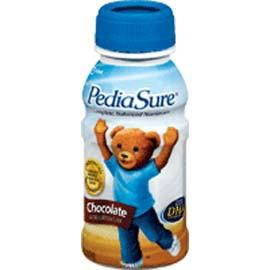 Abbott Nutrition PediaSure Ready-to-Drink Chocolate 8 oz Bottle, Gluten-free, Milk-based - One Each - Total Diabetes Supply