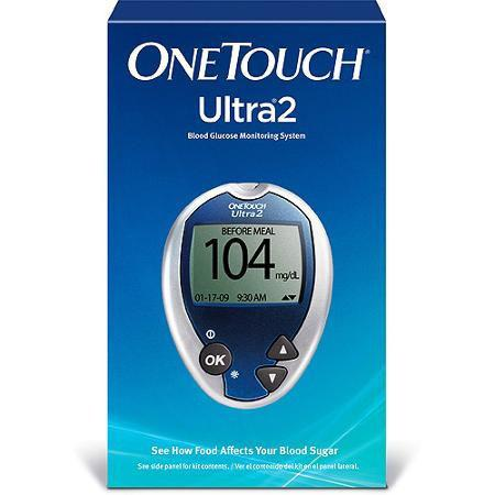 OneTouch Ultra 2 Glucose Meter Kit - Total Diabetes Supply