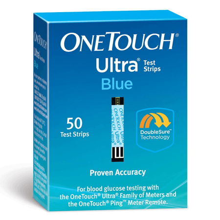History of OneTouch Test Strips. The OneTouch Test Strip was developed by LifeScan, which is a subsidiary of the Johnson & Johnson corporation. LifeScan's stated mission is to allow persons with disabilities to live a life without limits, and the OneTouch was intended to allow them to check their blood sugar levels without drawing a significant quantity of blood.