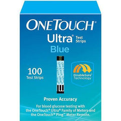 OneTouch Ultra Blue Glucose Test Strips - 100 ct. - Total Diabetes Supply