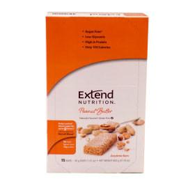 Extend Nutrition Anytime Bar - Peanut Butter - 15 Pack - Total Diabetes Supply