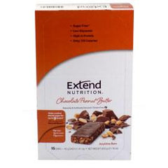Extend Nutrition Anytime Bar - Chocolate Peanut Butter - 15 Pack - Total Diabetes Supply