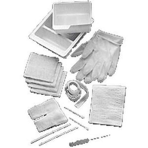 Basic Tracheostomy Care Standard Kit with Coated Paper Lid