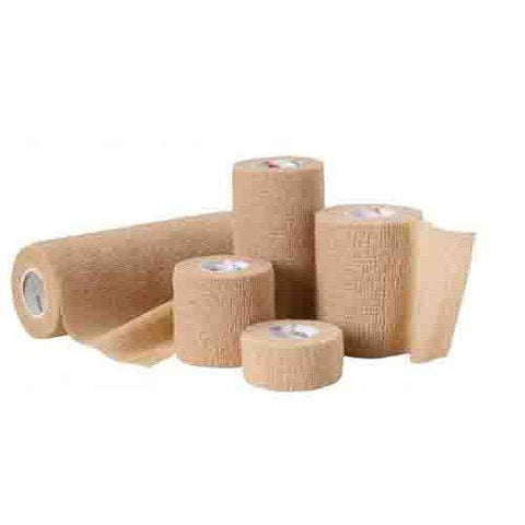 "Cardinal Self-adherent Bandage 4"" X 5 Yds.  -  One Roll"