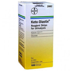 Bayer Keto-Diastix Reagent Strips, 100 ct. - Total Diabetes Supply
