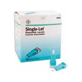 Bayer Single-Let Disposable Lancet 23G - 200 ct. - Total Diabetes Supply