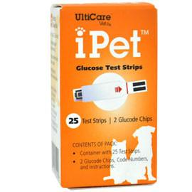 iPet Glucose Test Strips - 25ct. - Total Diabetes Supply