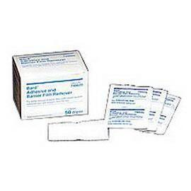 Bard Medical Protective Barrier Film Remover, Individual Wipes, Latex-free - Box of 50 - Total Diabetes Supply
