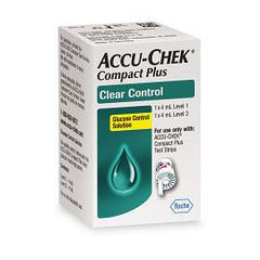 Accu-Chek Compact Plus Clear Control Solution - Total Diabetes Supply