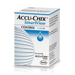 Accu-Chek SmartView Control Solution Level 1 - 2.5ml - Total Diabetes Supply