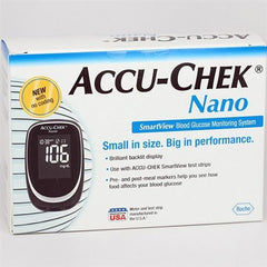 Accu-Chek Nano Glucose Meter - Total Diabetes Supply