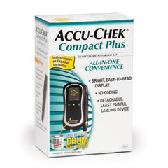 Accu-Chek Compact Plus Glucose Meter Kit - Total Diabetes Supply