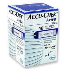 Accu-Chek Aviva Test Strips - 50 ct. - Total Diabetes Supply