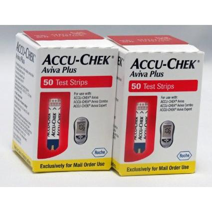 Accu-Chek Aviva Test Strips - 100 ct. - Total Diabetes Supply