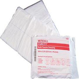 "Curity Sterile Multi-Trauma Dressing, Sterile 10"" x 30"" - Case of 50 - Total Diabetes Supply"