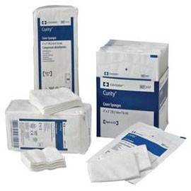 "Kendall Healthcare Curity Sterile Cover Sponge, 2s, 4"" x 4"" - Tray of 50 - Total Diabetes Supply"