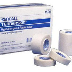 "Tenderskin Hypoallergenic Paper Tape 3"" x 10 yds. - Total Diabetes Supply"
