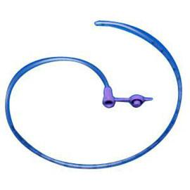 "Kendall Purple Argyle Indwell Pediatric Polyurethane Feeding Tube, 6-1/2Fr, 36"" - One each - Total Diabetes Supply"