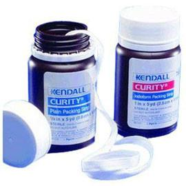 "Kendall Healthcare Curity Iodoform Packing Strips, Sterile 2"" x 5 yds - Total Diabetes Supply"