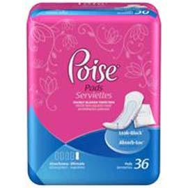 Poise Ultimate Coverage Protection Supreme Pad Sold By Bag of 33 6919295 - Total Diabetes Supply