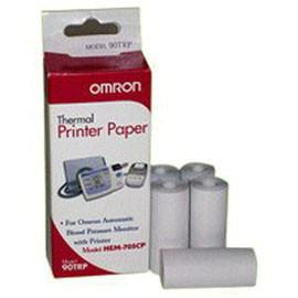 Omron HealthCare Inc Thermal Replacement Printing Paper Roll, with HEM705CP - Box of 5 - Total Diabetes Supply