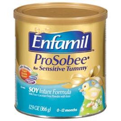 Mead Johnson Co Enfamil ProSobee Powder 12.9Oz Can, Milk-free, Lactose-free -  One Can - Total Diabetes Supply