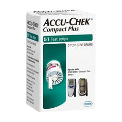 Accu-Chek Compact Plus Test Strips - 51 ct. - Total Diabetes Supply