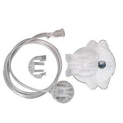 "Animas Comfort Infusion Set 43"" L Tubing, 17mm Cannula, 10 to 45 Insertion Angle, Luer Lock Connection"
