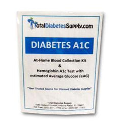 A1c Blood Collection Kit & Lab Testing - Total Diabetes Supply