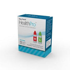 EasyTouch HealthPro Control Solution - High and Low - Total Diabetes Supply