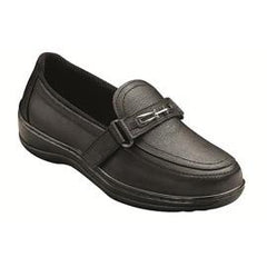 Chelsea Women's Easy Slip-On - Two-Way-Strap - Diabetic Shoes - Black - Total Diabetes Supply