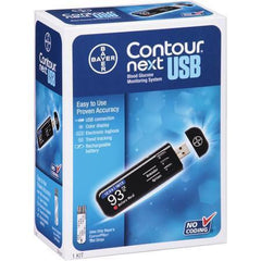 Bayer Contour Next USB Blood Glucose Monitoring System - Total Diabetes Supply