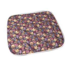 "Salk Company CareFor Deluxe Designer Print Reusable Underpad 23"" x 36"", Floral Print Printed Top Sheet, Latex-free - One each - Total Diabetes Supply"