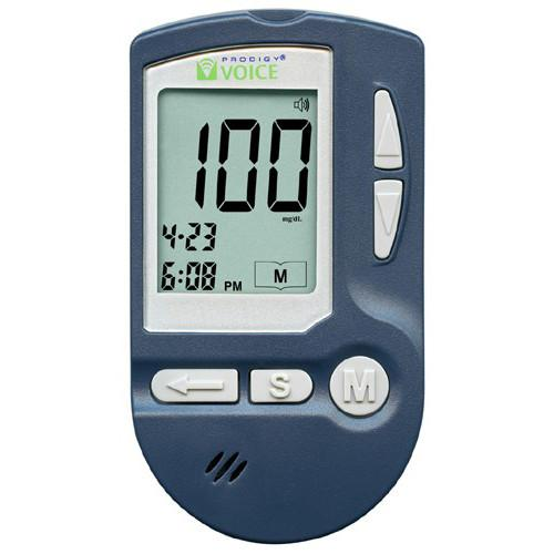 Prodigy VOICE Glucose Meter Kit - Total Diabetes Supply