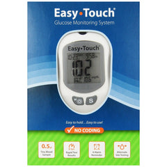 EasyTouch Glucose Monitor Kit - Total Diabetes Supply