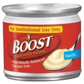 Boost Nutritional Vanilla Flavor Ready to Use Pudding 5 oz. Can - Individual Can - Total Diabetes Supply