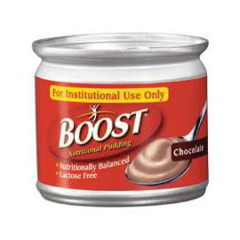 Boost Nutritional Chocolate Flavor Ready to Use Pudding 5 oz. Can - Individual Can - Total Diabetes Supply