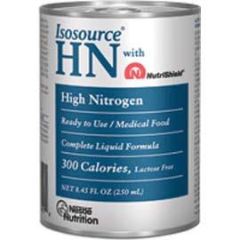 Nestle Healthcare Nutrition Isosource High-Nitrogen Complete Unflavored Liquid Food 250mL Can - Total Diabetes Supply