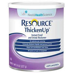 Nestle Healthcare Nutrition Resource Thickenup Instant Unflavored Food Thickener 8oz Can - Total Diabetes Supply