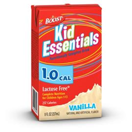 Nestle Healthcare Nutrition Boost Kid Essentials 1.0 Nutrition Fr Vanilla Flavor Drink 8oz Brik - - Total Diabetes Supply