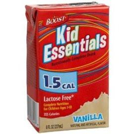 Nestle Healthcare Nutrition Boost Kid Essentials 1.5 Nutrition Vanilla Flavor Drink 8oz Brik - Total Diabetes Supply