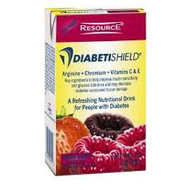Nestle Healthcare Nutrition Resource Diabetishield Nutritional Mixed Berry Drink 8oz Brik Pak - Total Diabetes Supply
