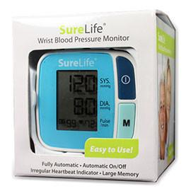 MHC Medical SureLife Wrist Blood Pressure Monitor - Automatic - One Each - Total Diabetes Supply