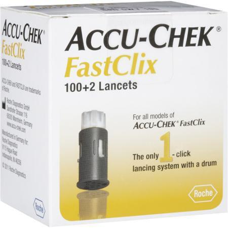Accu-Chek FastClix Lancets 30G - 102 ct. - Total Diabetes Supply