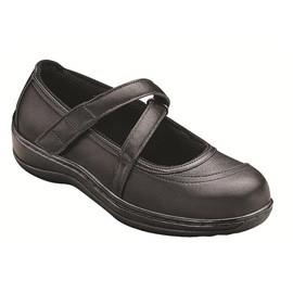 Celina women's Manhattan Mary Jane - Diabetic Shoes - Black - Total Diabetes Supply