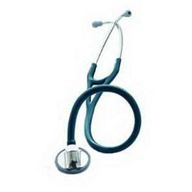 "3M Littmann Master Cardiology Stethoscope, 27"" L, Navy Blue, Latex-free, Soft Sealing Eartip - Each - Total Diabetes Supply"